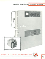 Gotham Feedback Disk Cutting System