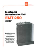 EMT 240 Digital Reverb