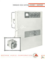 Gotham PFB-150WA Power Amplifier